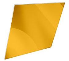 Aluminium Gold Mirror Sheet